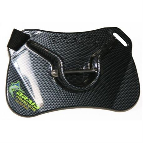 DOLPHIN BELT WITH GIMBAL BLACK SHINNING 96095 - DOLPHIN_BELT_CARBON