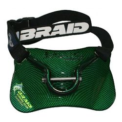 DOLPHIN BELT WITH GIMBAL GREEN MATT 96097 - DOLPHIN_BELT_GREEN