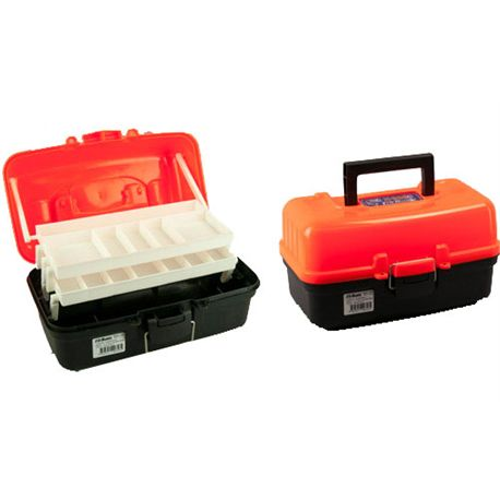 TRAY TACKLE BOX 2 ORANGE P609020003 PROHUNTER - CAJA_DE_PESCA_ORANGE