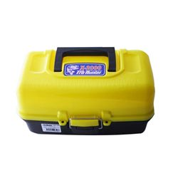 TRAY TACKLE BOX 2 YELLOW P609020002 PROHUNTER