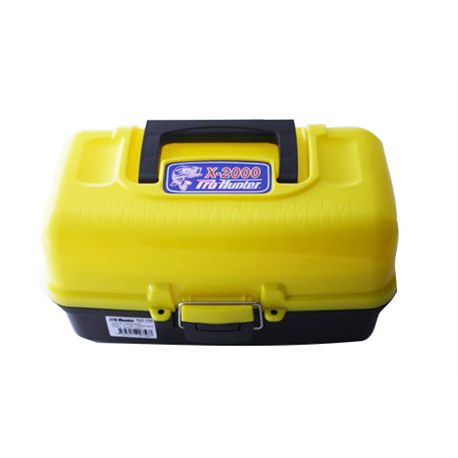 TRAY TACKLE BOX 2 YELLOW P609020002 PROHUNTER - CAJA_DE_PESCA_YELLOW