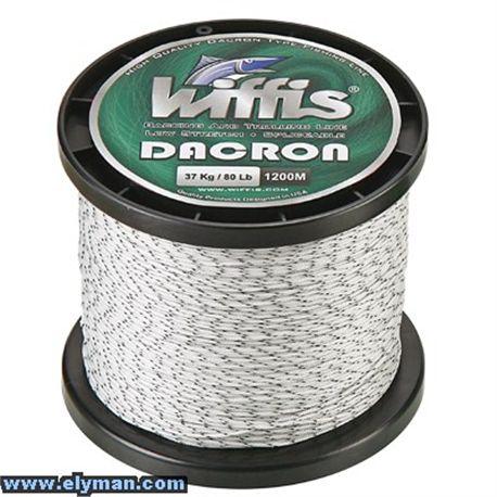 WIFFIS DACRON 1200M 80LB/37KG W-G - DACRON_BIG_FISH