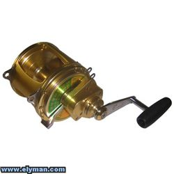 CARRETE EVEROL TWO SPEED 14/0 TS 130LBS