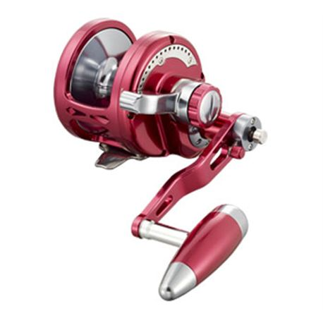 CARRETE SEALION JIGGING OSL08DL GUNSMOKE/SILVER - SL09D_RED_GUNSMOKE_SMALL