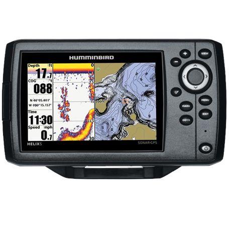 SONDA HELIX 5/GPS/PLOTTER 409610-1 NS-469 - HELIX 5 SONDA-GPS-PLOTTER
